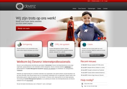 Webdesign Bureau devenz