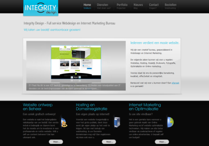 Webdesign Bureau integrity-design