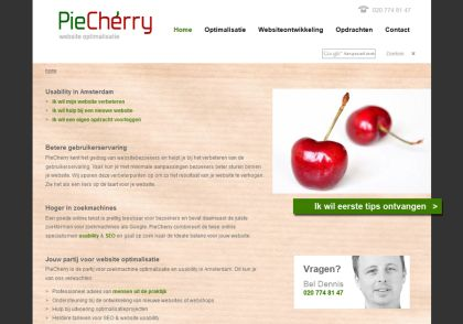 Webdesign Bureau piecherry